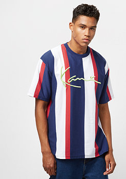 Karl Kani College Stripes navy/white/red