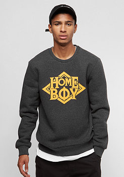 Homeboy Def Crew Neck titan heather