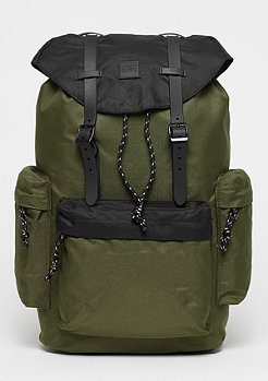 Urban Classics Camo Backpack With Multibags olive