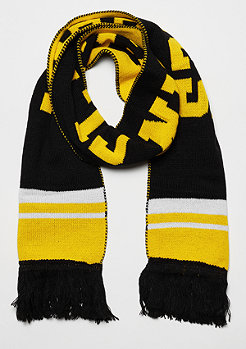Urban Classics Fan Scarf black/ chromeyellow