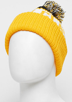 Urban Classics Fan Beanie black/ chromeyellow