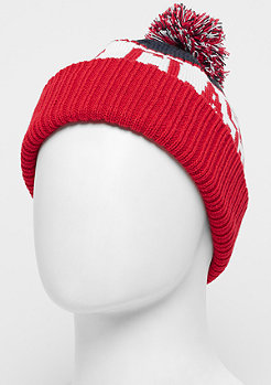 Urban Classics Fan Beanie navy/red
