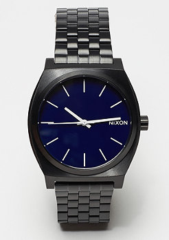 Nixon Time Teller all black/dark blue