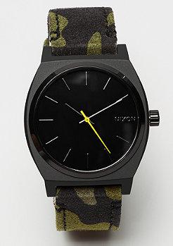 Nixon Time Teller Black / Camo / Volt