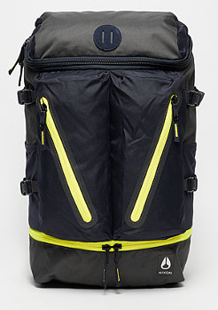 Nixon Scripps Backpack II Black / Dark Olive / Volt