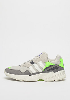 adidas FALCON clear brown/off white/solar green