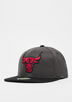 Mitchell & Ness NBA Chicago Bulls 2Tone Logo 110 Flat Snap black/charcoal