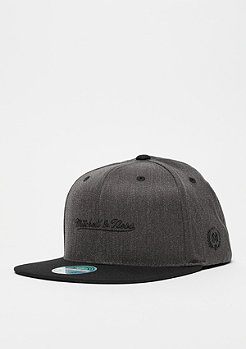 Mitchell & Ness M&N 2Tone Logo 110 Flat Snap black/charcoal