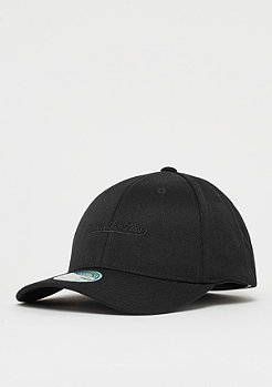 Mitchell & Ness M&N Script Low Pro 110 Curved Snap black