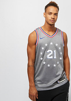 NIKE Basketball NBA Philadelphia 76ers Joel Embiid Swingman dark grey heathe