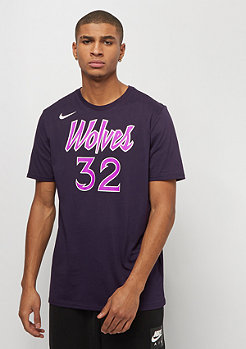 NIKE Basketball NBA Minnesota Timberwolves Karl-Anthony Town Dry ES purple