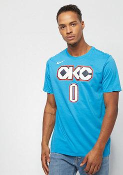NIKE Basketball NBA Oklahoma City Thunder Dry ES Russel Westbrook turquoise