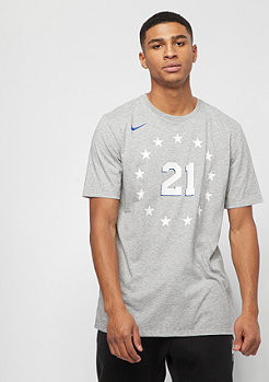 NIKE Basketball NBA Philadelphia 76ers Joel Embiid dark grey heather