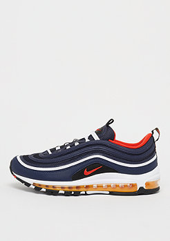NIKE Air Max 97 midnight navy/habanero red/black/white