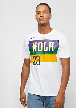 NIKE Basketball NBA New Orleans Pelicans Anthony Davis white