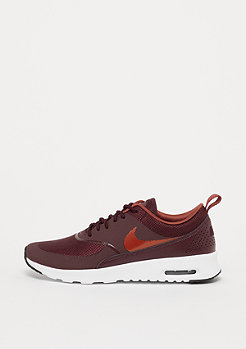 NIKE Air Max Thea burgundy crush/burnt organge-black-white