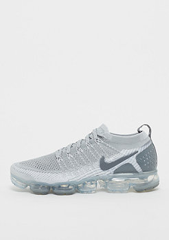 NIKE Air VaporMax Flyknit wolf grey/pure platinum/total orange