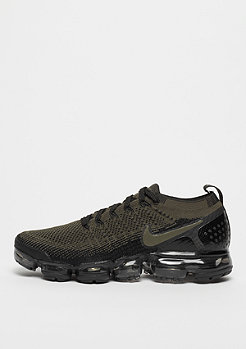 NIKE Running Air VaporMax Flyknit 2 cargo khaki/black/total orange