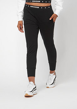 Converse Fleece Pant Crop Classic Star black
