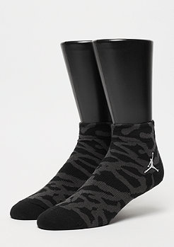 JORDAN Elephant Quarter Socks black/white