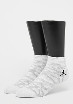 JORDAN Elephant Quarter Socks white/black