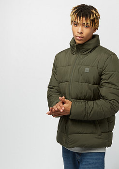 Urban Classics Basic Puffer Jacket darkolive