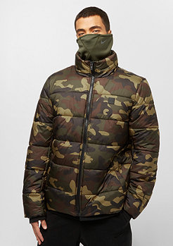 Urban Classics Basic Puffer Jacket woodcamo
