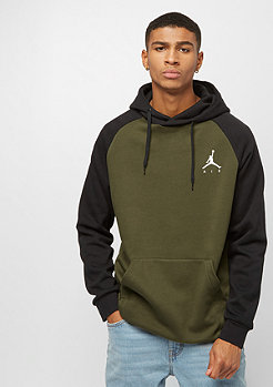 JORDAN Jumpman PO olive canvas/black/white