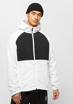 NIKE SB Polartec Winterized Full-Zip Fleece Skate Hoodie white/black/black