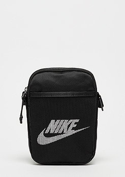NIKE Heritage Small Items Bag black/black/white