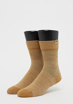 NIKE Sneaker Sox gold/muted bronze/black