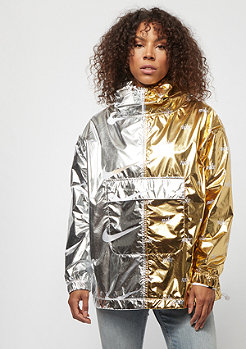 NIKE NSW Jacket Metallic gold/silver