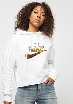 NIKE NSW Rally Hoodie Metallic Pack white