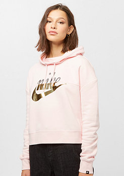 NIKE NSW Rally Hoodie Metallic guava ice
