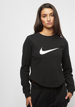 NIKE NSW Swoosh Top Crop black/black/white