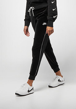 NIKE NSW Pant Velour black/white/white