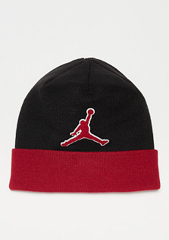 JORDAN Beanie Graphic black/gym red/gym red