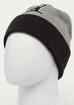 JORDAN Beanie Graphic carbon heather/black/black