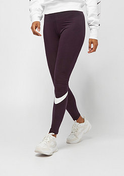 NIKE NSW Leggings Club burgundy ash/white