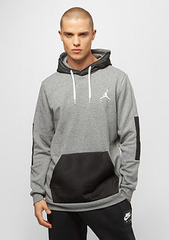 JORDAN Jumpman Hybrid Fleece carbon heather black white
