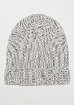 NIKE NSW Beanie Honeycomb grey heather/wolf grey
