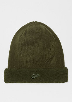 NIKE NSW Beanie Sherpa olive canvas/olive canvas