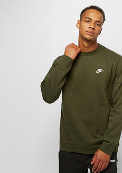 NIKE Club Crew olive canvas/white