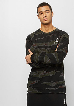 JORDAN Jumpman Fleece Camo Crew black white