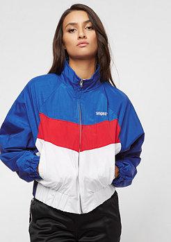 SNIPES Block Trackjacket blue/red/white