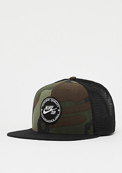 NIKE SB NK Pro Cap Patch Trucker medium olive/black/black