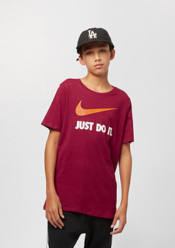 NIKE Junior JDI Swoosh red crush