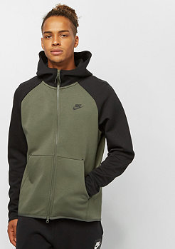 NIKE Tech Fleece FZ twilight marsh/black/black