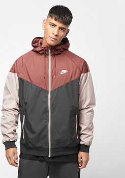 NIKE NSW WR Jacket red sepia/black/diffused taupe