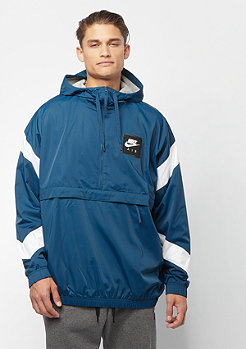 NIKE NSW Air Jacket HD Woven blue force/white/blue force